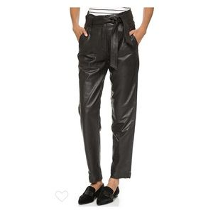 ❌sold TU❌NWOT Just Female leather pants
